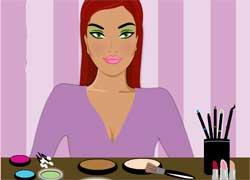 Игры для девочек - макияж для Барби в салоне красоты