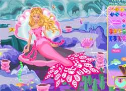 Барби - русалочка: игра для девочек