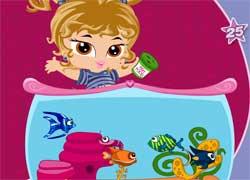 Малышки Братц - создай свой аквариум