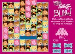 Игра для девочек с малышками Братц