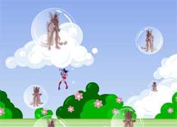 Игры Винкс - помоги Винкс уворачиваться от веселых пузырей