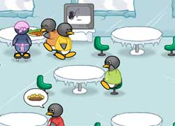 Кафе пингвинов - игра для девочек