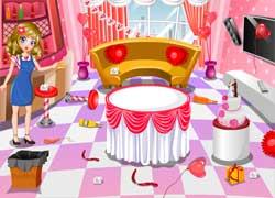 Уборка дома - игра для хозяйственных девочек