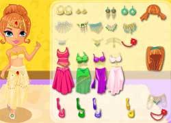 Одевалка - экзотические танцы с восточными красавицами