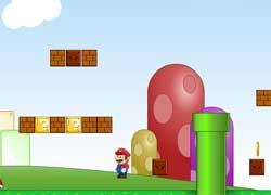Игра для девочек: бродилка с Марио