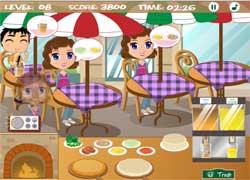 Игра для девочек: пиццерия