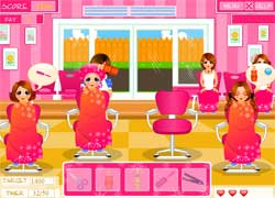 Игры для девочек салон красоты для лица и волос бесплатно.