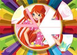Пазл с Винкс - игра для девочек