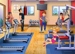 Приколы в спортзале - игра для девочек