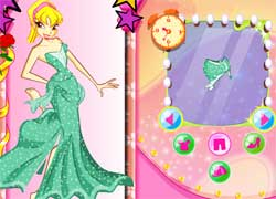 Одевалка с Винкс - игра для девочек