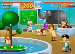 Игра для девочек: в зоопарке